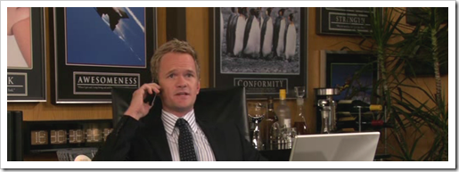 the Barney Stinson Office Poster collection. True Story.