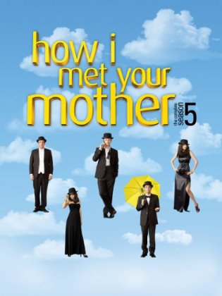How I Met Your mother Season 5 DVD Art