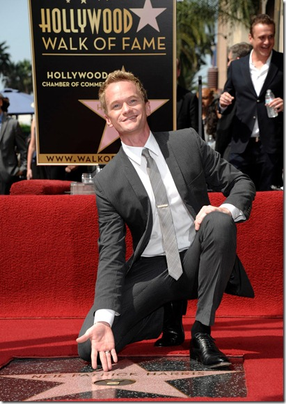 Neil Patrick Harris Gets Star On Walk Of Fame